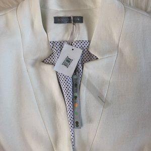 Olivia Moon Jackets & Coats - NEW Olivia Moon Cotton Blend Knit Blazer